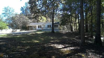 Dawsonville Single Family Home Under Contract: 796 War Hill Park Rd