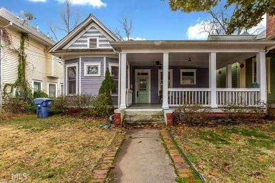 Atlanta Single Family Home New: 363 Woodward Ave