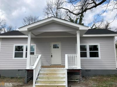 Conyers GA Single Family Home New: $95,000