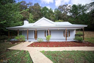 Dawsonville Single Family Home New: 158 Stowers