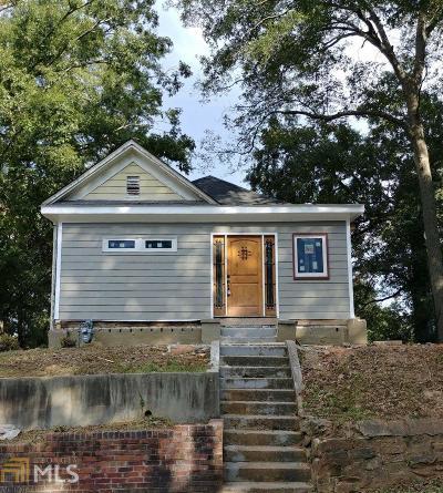 Atlanta Single Family Home New: 865 Hall Street NW