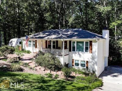 Kennesaw Single Family Home Under Contract: 3774 Memorial Pkwy