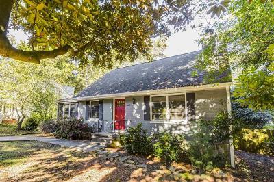 Decatur Single Family Home New: 2468 Woodridge Drive