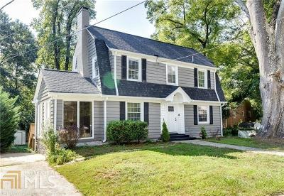 Atlanta Single Family Home New: 1698 Kenmore