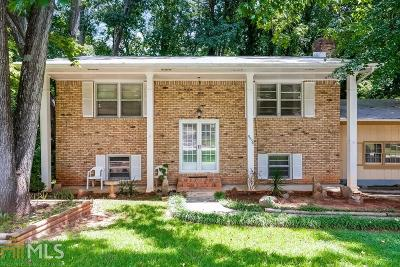 Clayton County Single Family Home New: 5954 Elm Drive