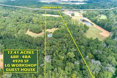 Hampton Single Family Home For Sale: 3123 Jonesboro Rd