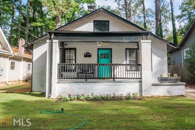 Atlanta Single Family Home New: 1665 Olympian Way