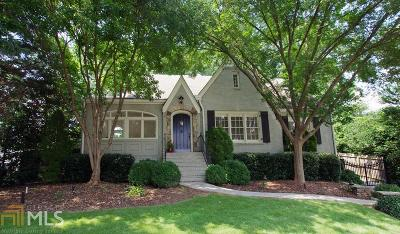Atlanta Single Family Home New: 1600 Johnson Road NE