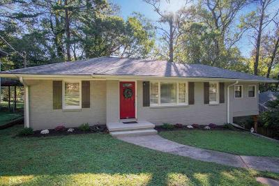 Decatur Single Family Home New: 2050 Holly Hill Drive