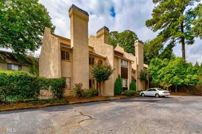 Roswell Condo/Townhouse Back On Market: 604 Roswell Landings Dr