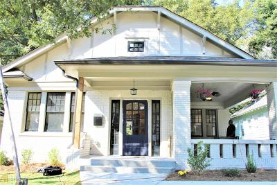 Atlanta Single Family Home Under Contract: 1603 Westwood