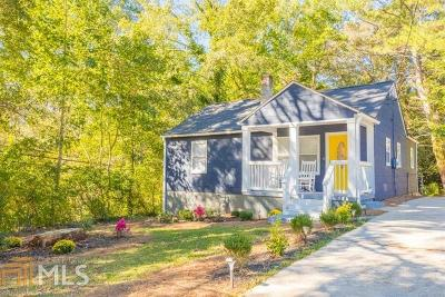 Decatur Single Family Home New: 2011 McAfee Place