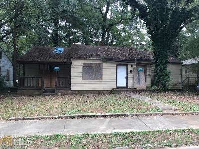 Atlanta Multi Family Home New: 1384 Epworth Street SW