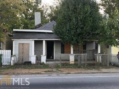 Atlanta Single Family Home New: 1465 Jonesboro Rd SE