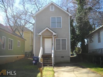 Atlanta Single Family Home New: 352 Bass St