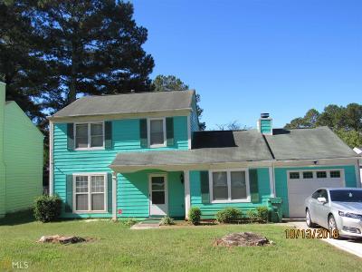 Stone Mountain Single Family Home New: 1287 Mill Lake