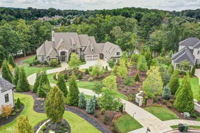 Alpharetta, Milton, Roswell Single Family Home For Sale: 16070 Manor Club Dr