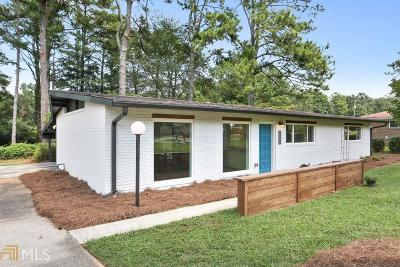 Marietta Single Family Home Under Contract: 1975 Myrtle Dr