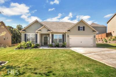 Acworth Single Family Home New: 160 Hickory Pt Dr