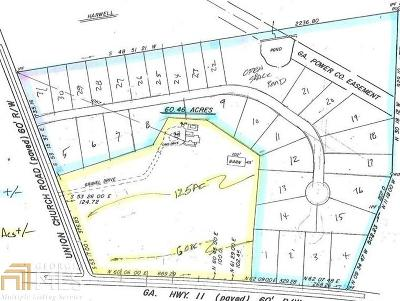 Winder Residential Lots & Land For Sale: 558 Union Church Rd