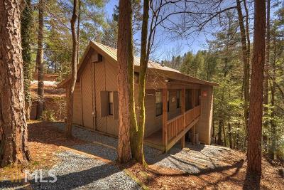Ellijay Single Family Home Under Contract: 438 Whitewater