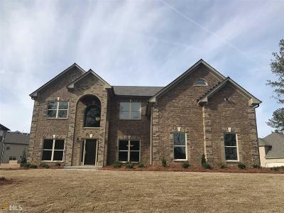 Conyers Single Family Home New: 3751 Stonecreek Cir