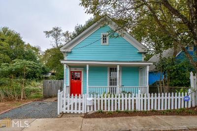 Cabbagetown Single Family Home For Sale: 730 Gaskill