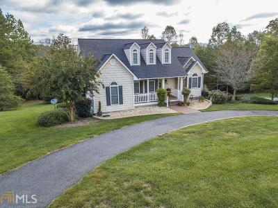 Blairsville Single Family Home Contingent With Kickout: 97 Brook Green Ct