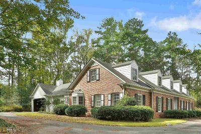 Newnan Single Family Home Contingent With Kickout: 2 Woodlane Dr
