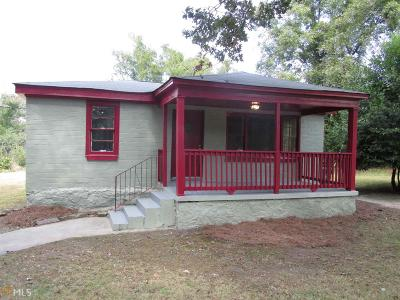 Lithonia Single Family Home New: 7542 Conyers St