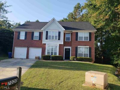 Lithonia Single Family Home New: 7020 Crestwood Pl