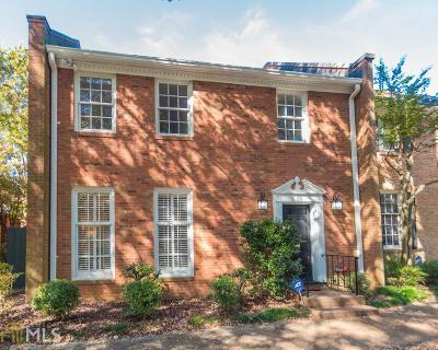 Atlanta Condo/Townhouse New: 20 Lullwater Pl