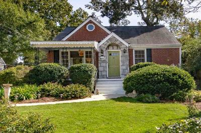 Decatur Single Family Home For Sale: 329 Kirk Rd