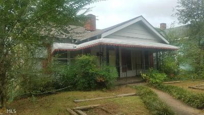Barnesville Single Family Home For Sale: 204 Mill St
