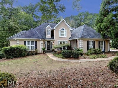 Roswell Single Family Home Under Contract: 335 Todwick Dr