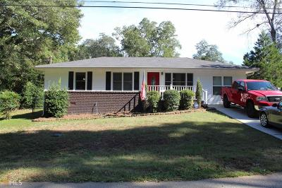 Newnan Single Family Home Under Contract: 32 Belmont Cir