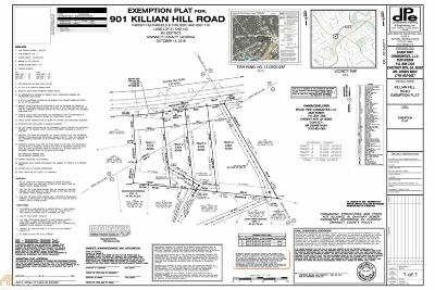Lilburn Residential Lots & Land For Sale: Killian Hill Rd #3