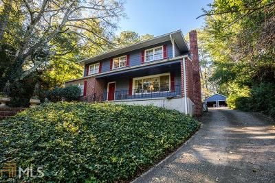 Atlanta Single Family Home New: 922 Lullwater Rd