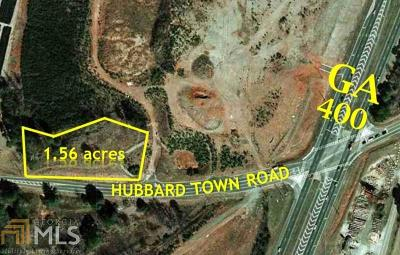 Cumming Commercial For Sale: 5885 Hubbard Town Rd