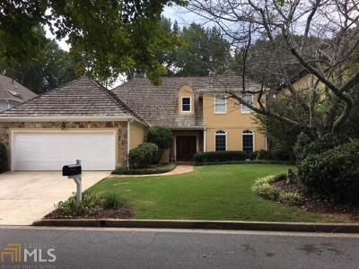 Roswell Single Family Home For Sale: 2555 The Fifth Fairway