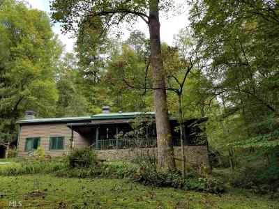 Rabun County Single Family Home Under Contract: 215 Tallulah River Rd