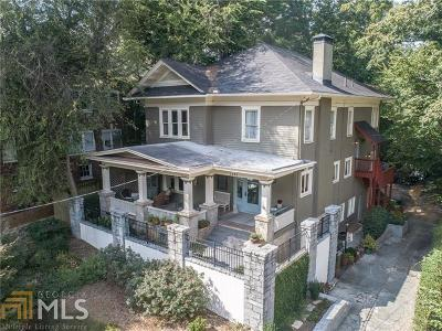 Single Family Home For Sale: 1298 Piedmont Ave
