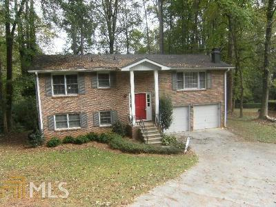 Kennesaw GA Single Family Home Under Contract: $189,000