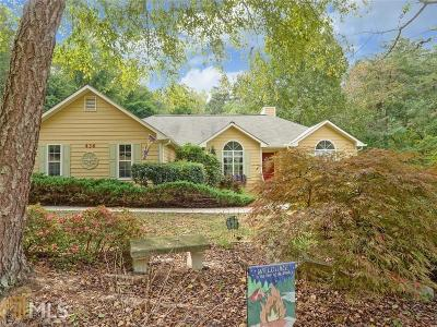 Dawsonville Single Family Home Under Contract: 436 Bay Dr
