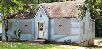 Atlanta Single Family Home New: 1364 Westboro Dr