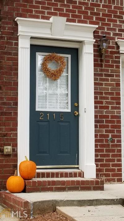 Tucker Condo/Townhouse Under Contract: 2115 Dillard Xing