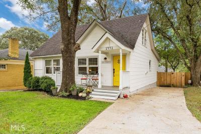 Atlanta Single Family Home New: 1491 McPherson Ave