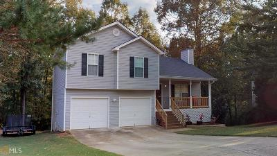 Dacula Single Family Home New: 2721 Winky Bluff