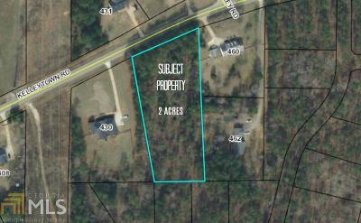 McDonough Residential Lots & Land For Sale: Kelleytown Rd