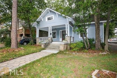 Inman Park Single Family Home Under Contract: 1112 Colquitt Ave